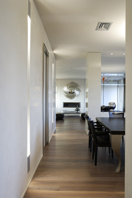 Monica Arpesani Interior Designer | Attico con terrazze